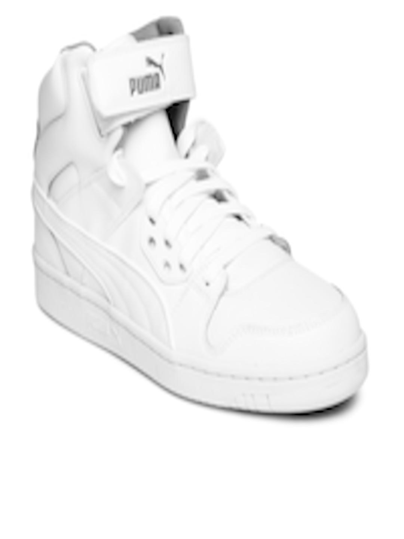 dbdf026ce9d9 Buy Puma Men White Rebound Street L Sneakers - Casual Shoes for Men ...