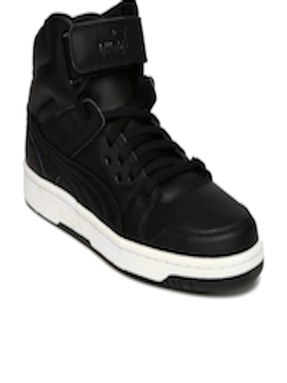 5438437bc020 Buy PUMA Men Black Rebound Street L Sneakers - Casual Shoes for Men 935408