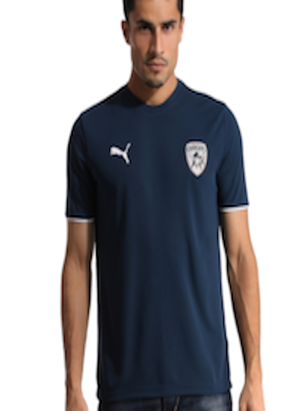 Buy puma deccan chargers men navy blue lookalike jersey tshirts buy puma deccan chargers men navy blue lookalike jersey tshirts for men 3600 myntra biocorpaavc Image collections