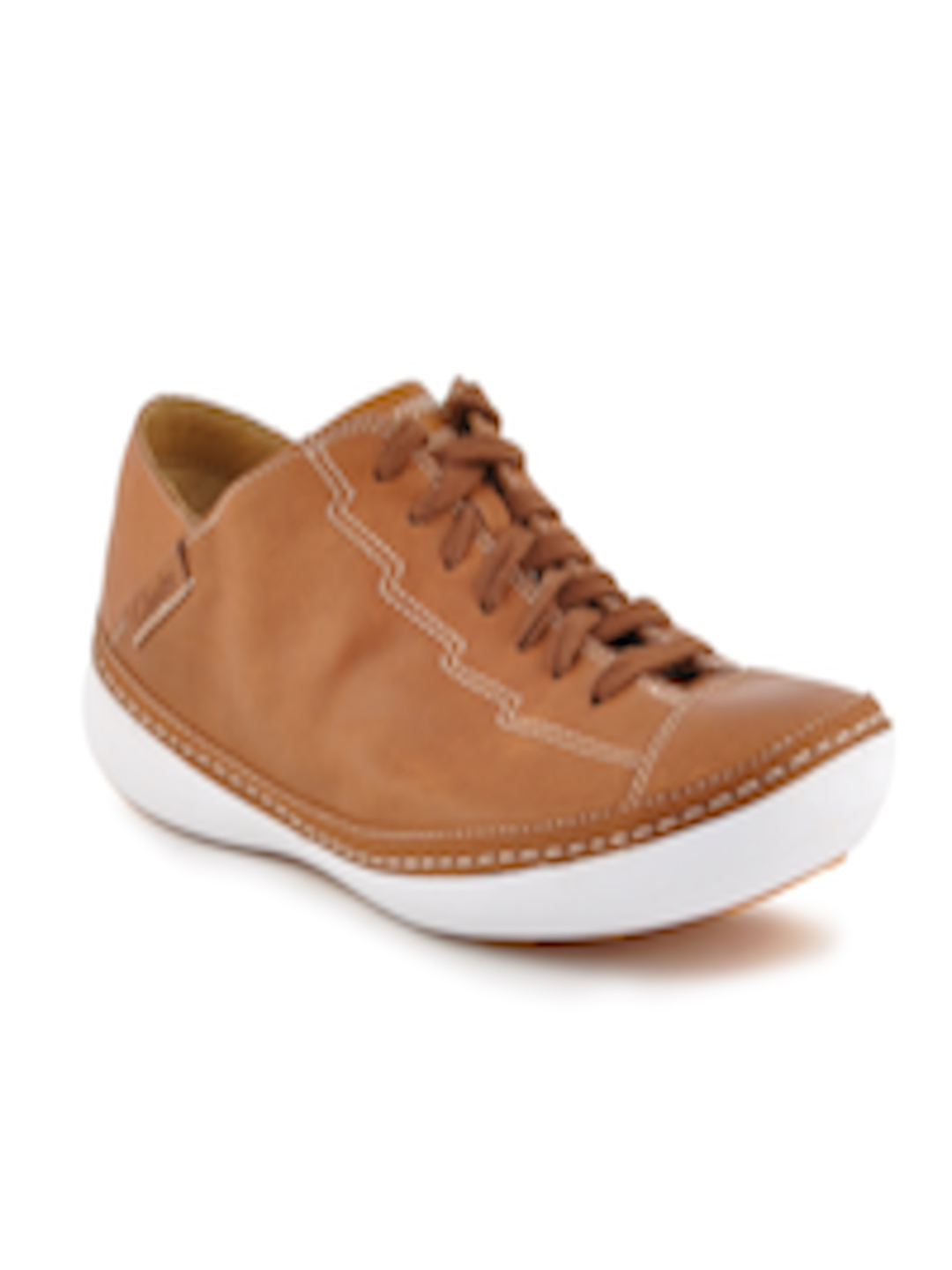 Buy Clarks Men Rocco Fuse Brown Casual Shoes