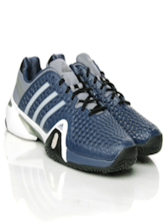 promo code 59961 20b57 Buy ADIDAS Men Blue Adipower Barricade 8+ Tennis Shoes - Sports Shoes for  Men 370476   Myntra