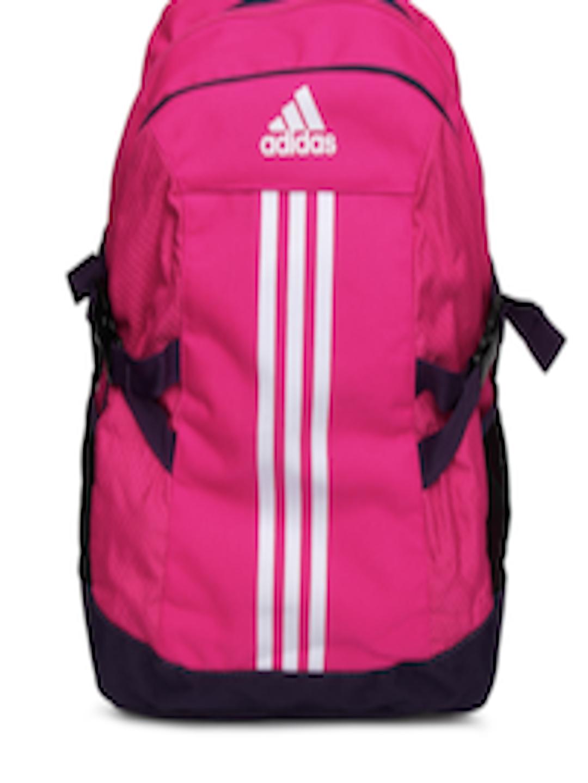 f45f833d97 Buy ADIDAS Women Pink BP Power II Backpack - Backpacks for Women ...