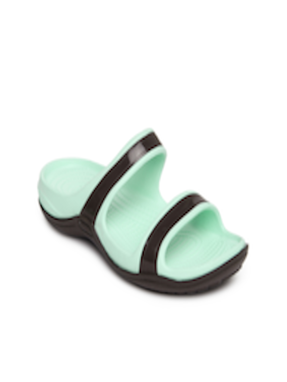 b96332526 Buy Crocs Women Blue   Dark Brown Patra II Sandals - Flats for Women 198910