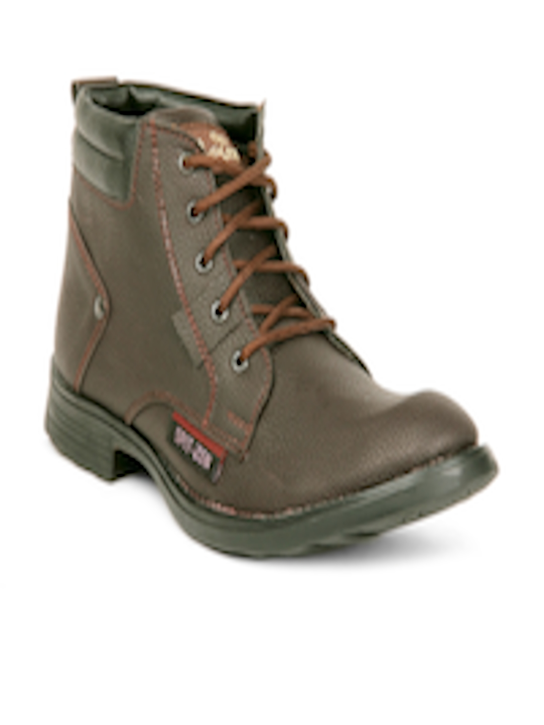 Buy Do Bhai Men Brown Boots - Casual Shoes for Men 415228 ...