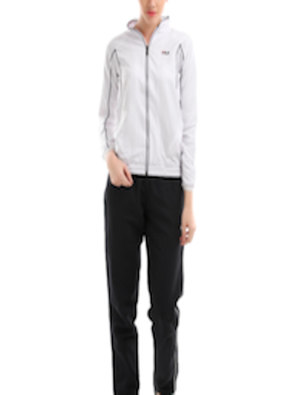 017dbb73 Buy Fila Women Black & White Eva Tracksuit - - Apparel for Women