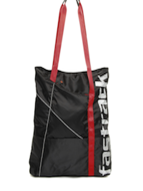 Buy Fastrack Women Black Tote Bag - Handbags for Women ...
