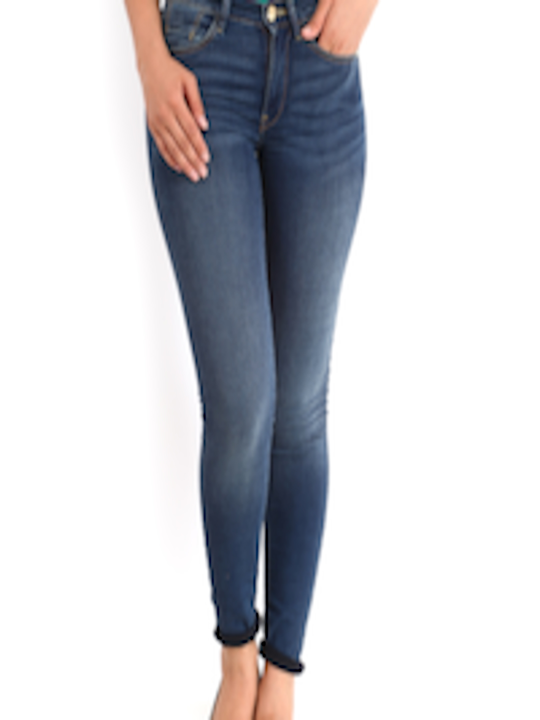 Buy French Connection Women Blue Skin Tight Fit Jeans