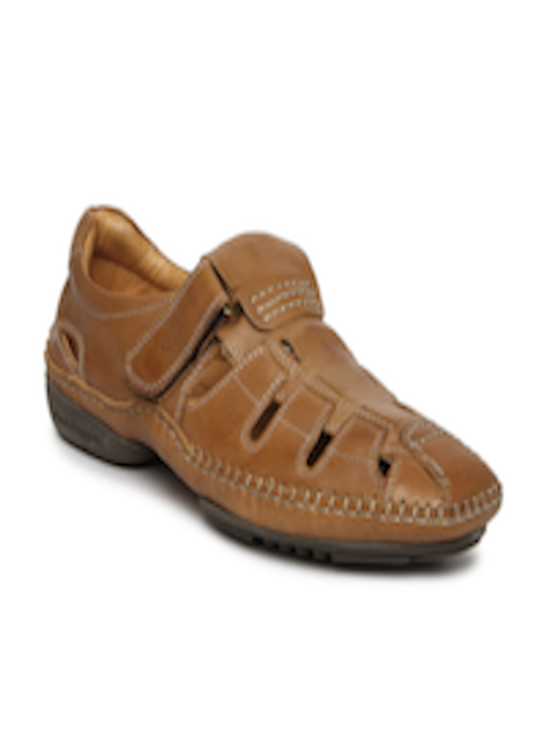 Buy Hush Puppies Men Brown Leather Casual Shoes Casual