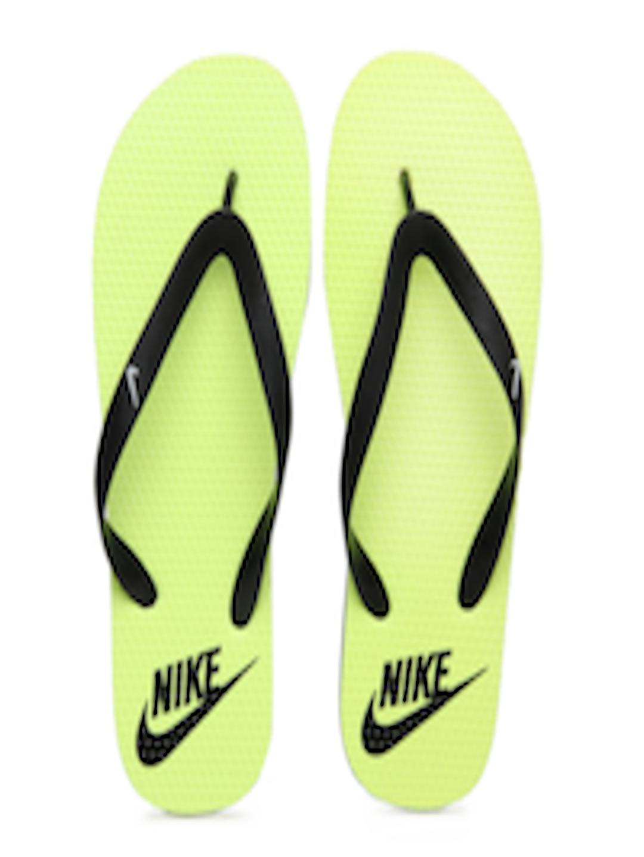 12645628a Buy Nike Men Fluorescent Green   Black Aquahype Flip Flops - Flip Flops for  Men 245865