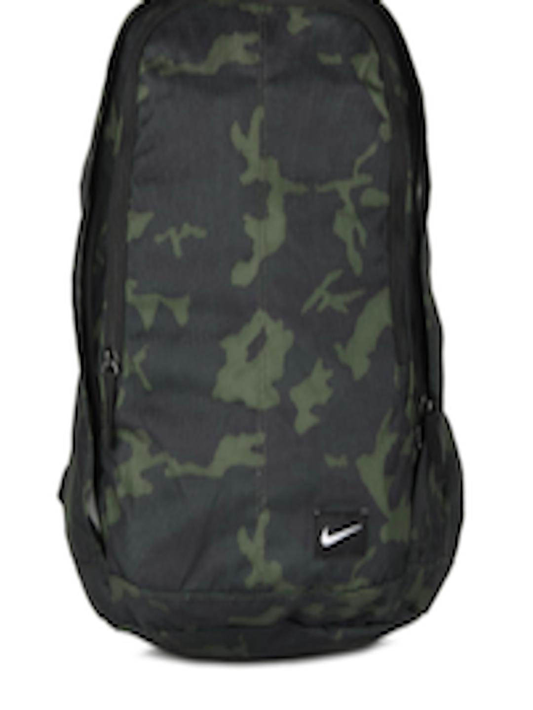 Buy Nike Men Green   Black Camouflage Hayward Backpack - Backpacks for Men  155041  f62b1bb64