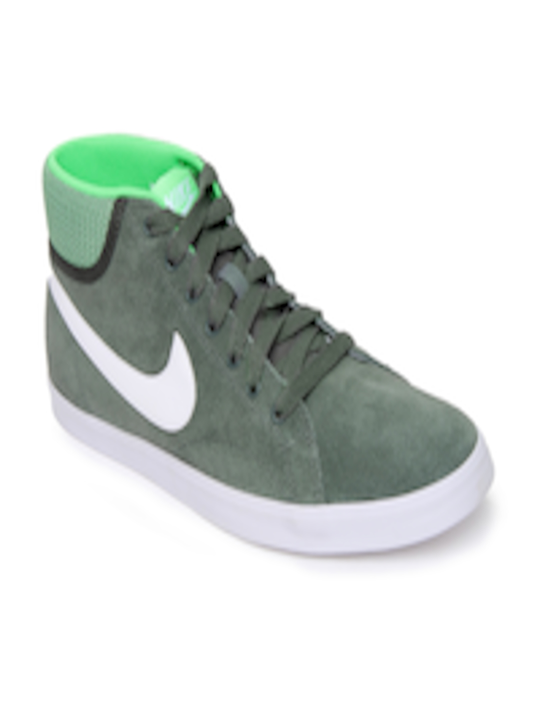 Buy Nike Green Eastham Mid Nsw Casual Shoes Casual Shoes
