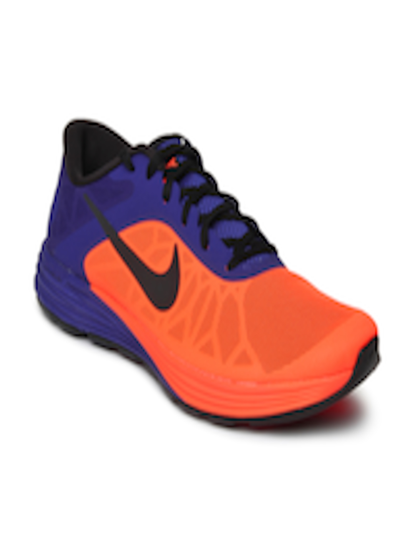 buy nike men neon orange amp purple lunarlaunch training