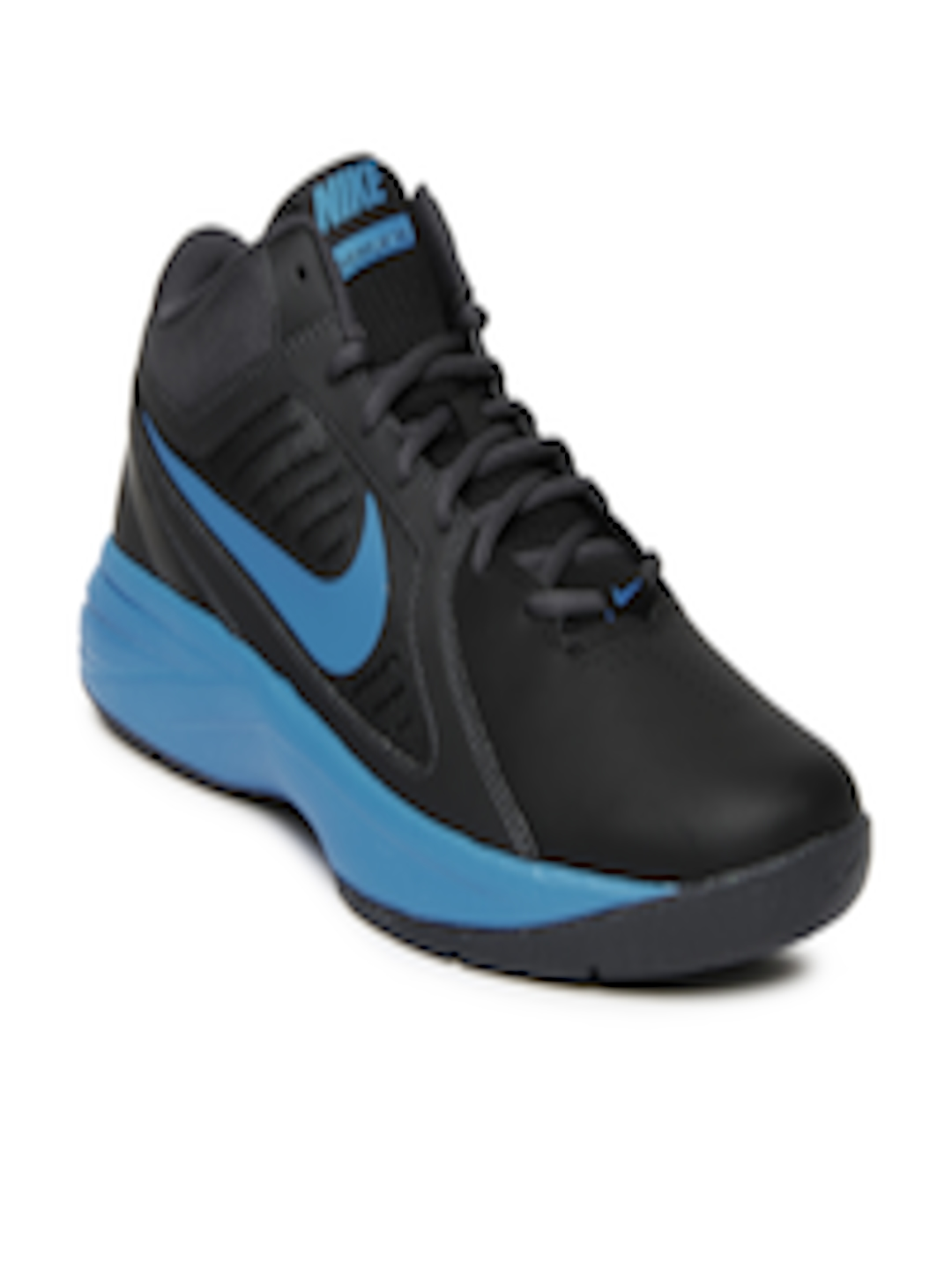 7d77151621d13 Buy Nike Black The Overplay VIII Basketball Sports Shoes - - Footwear for  Men