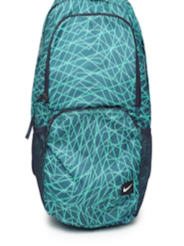 Buy Nike Men Teal Blue   Sea Green Hayward 29L Backpack - Backpacks for Men  468670