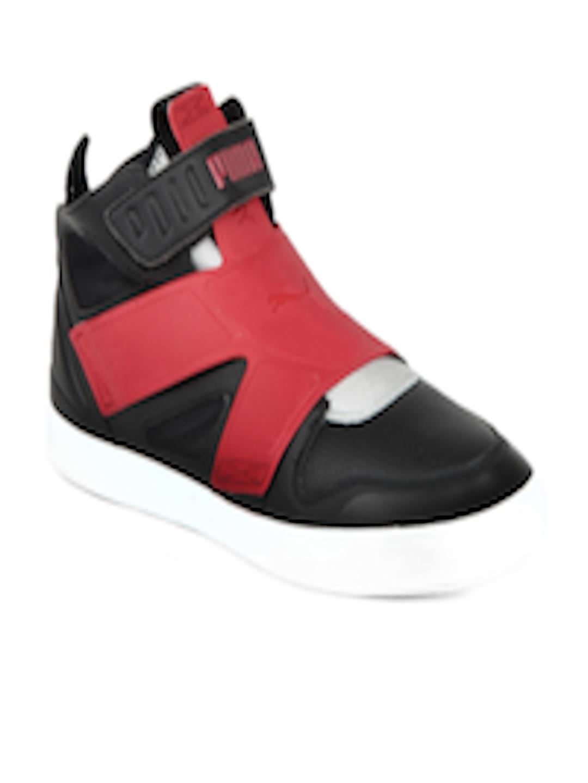 Buy Puma Men Black   Red El Rey Future Shoes - Casual Shoes for Men 107490   0424b5863