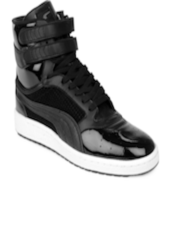 ddcde423d11 Buy Puma Men Black Sky 2 Hi Urban Triple Casual Shoes - Casual Shoes for  Men 159162