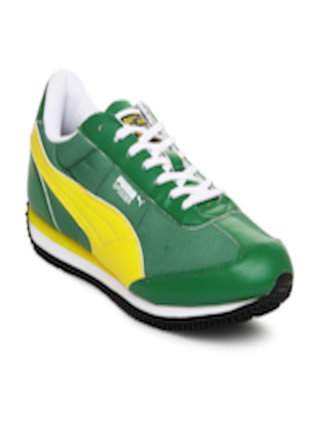 eba986dde62ca7 Buy Puma Men Green Speeder Tetron II Ind. Casual Shoes - Casual Shoes for  Men 171392