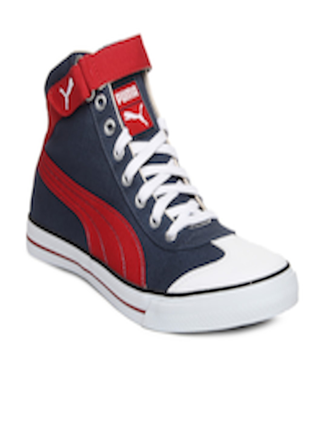 5d3917384004ba Buy Puma Unisex Blue   Red 917 Mid 2.0 Ind. Casual Shoes - Casual Shoes for  Unisex 171396