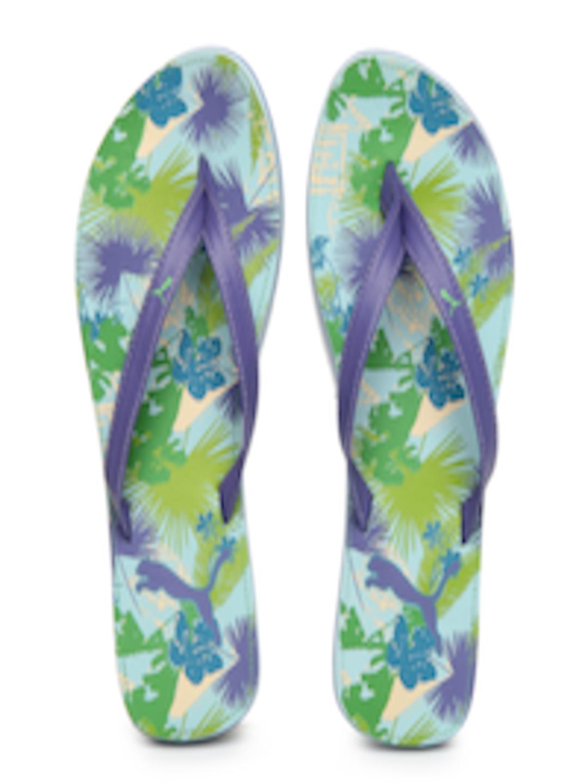 Buy Puma Women Multi Coloured Flora Flip Flops - Flip -8714