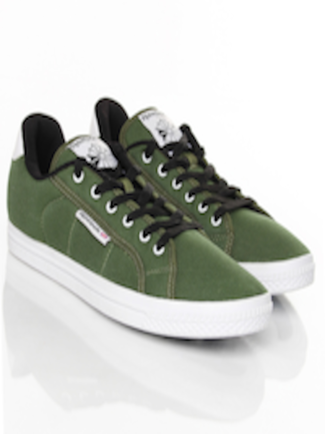 e5dd9a92e26 Buy Reebok Classic Men Olive Green On Court III LP Casual Shoes ...