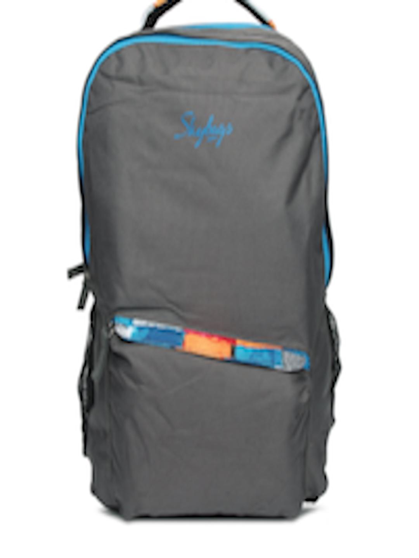 Buy Skybags Unisex Grey Backpack Backpacks For Unisex
