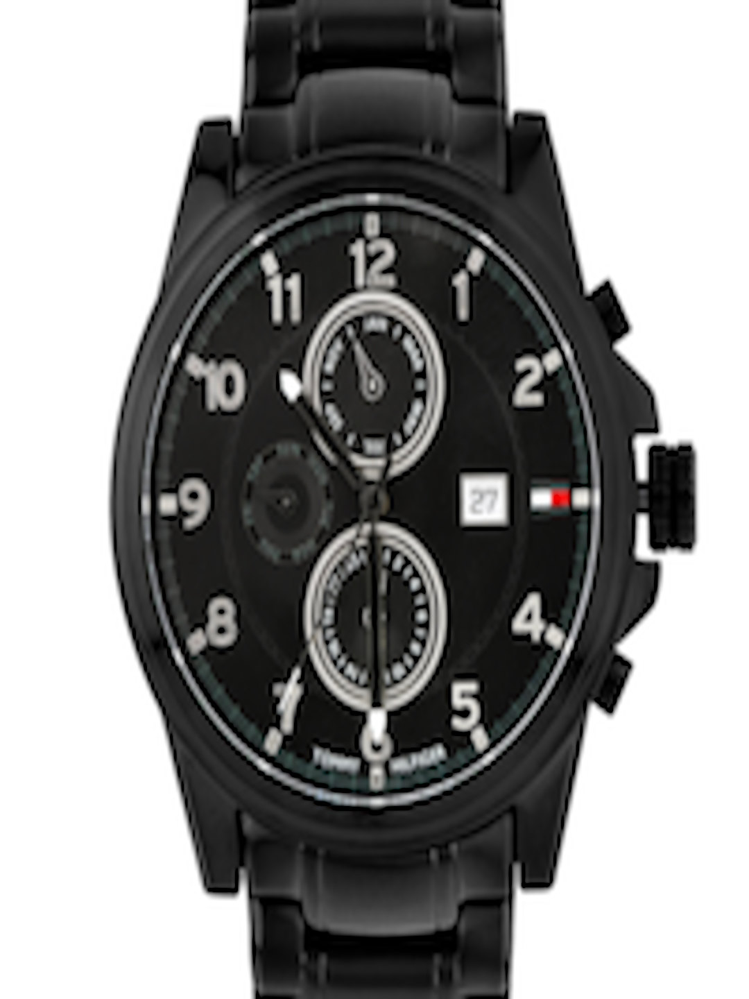 63a7c2d54820e2 Buy Tommy Hilfiger Men Black Dial Chronograph Watch TH1790961J - Watches  for Men 237112