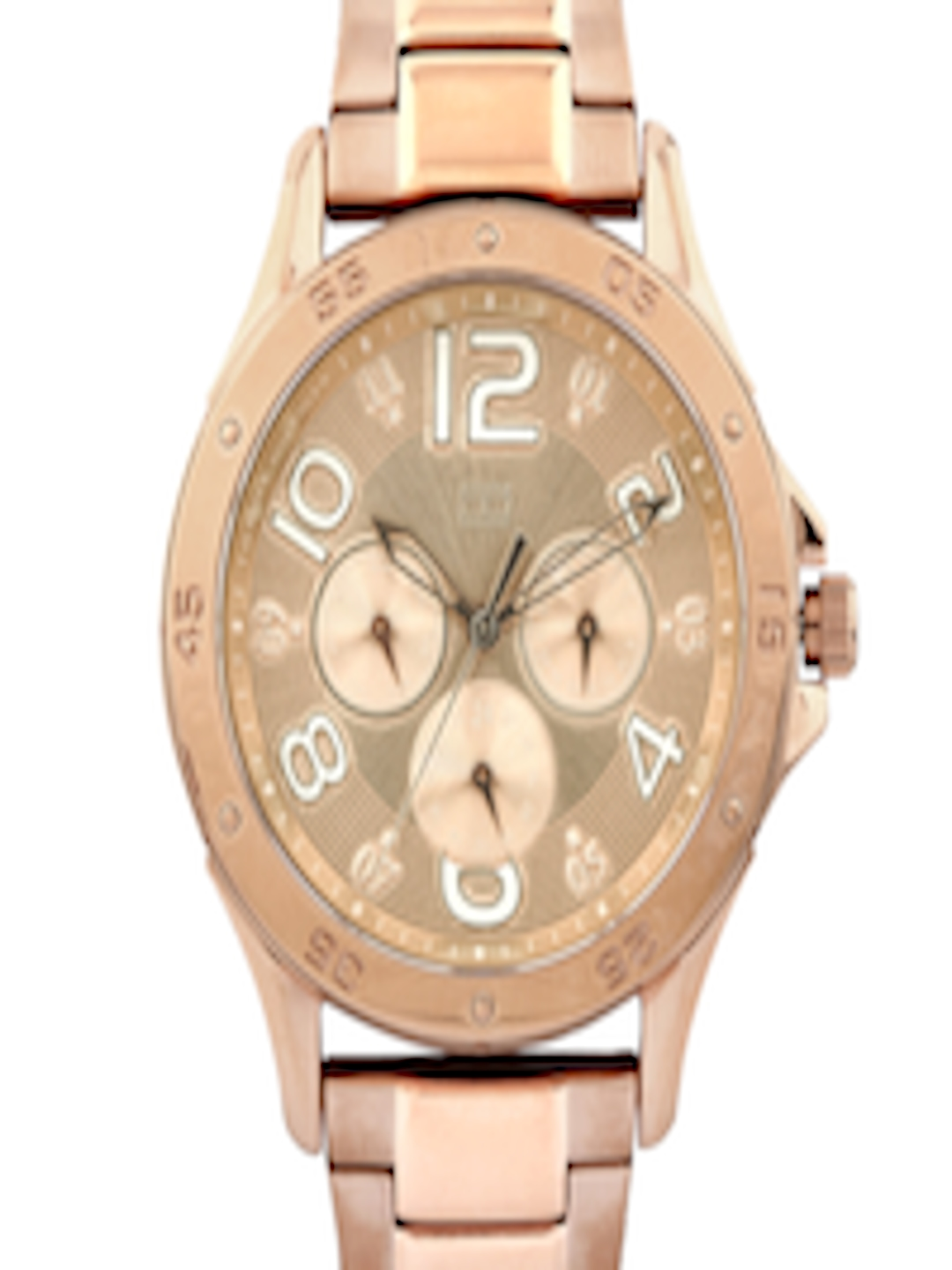 buy tommy hilfiger women chronograph rose gold toned dial watch th1781171j watches for women. Black Bedroom Furniture Sets. Home Design Ideas