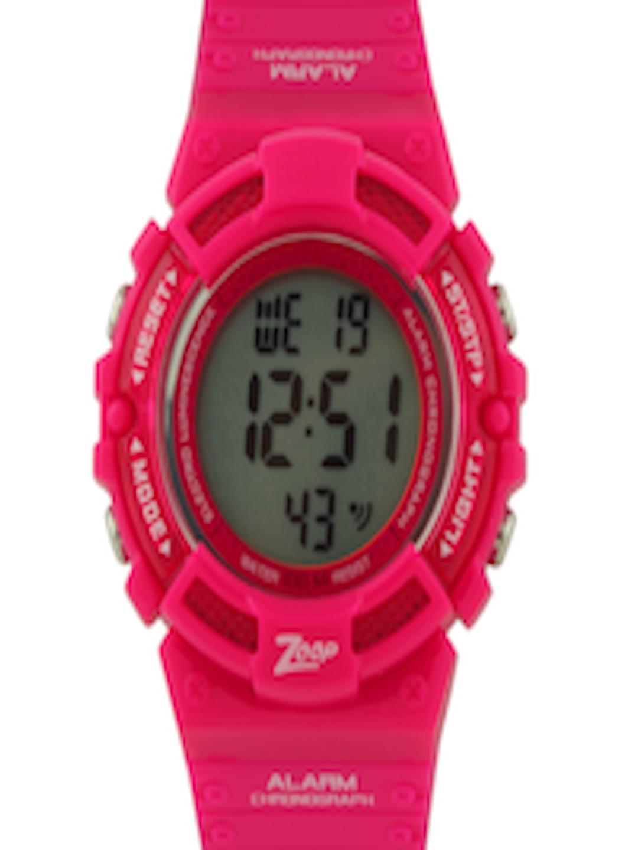 Buy Zoop Girls Pink Digital Watch - Watches for Girls ...