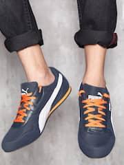 Puma Men Navy Solid Superior DP Sneakers
