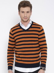 Men Orange Sweaters - Buy Men Orange Sweaters online in India