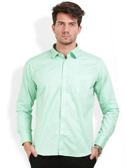 Light Green Shirts - Buy Light Green Shirts online in India