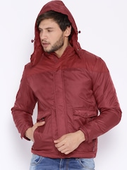 Fame Forever by Lifestyle Red Padded Jacket