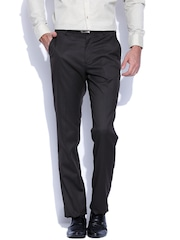 Four One Oh Brown New Slim Fit Formal Trousers