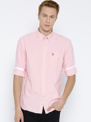Us Polo Assn Pink Shirts - Buy Us Polo Assn Pink Shirts online in ...