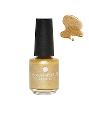 Lakme Absolute Gel Stylist Illuminate Gold Glaze Nail Polish