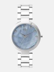 DressBerry Women Blue Stone-Studded Dial Watch DB11-D