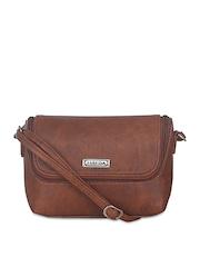 ESBEDA Tan Brown Sling Bag