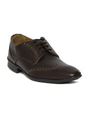 Knotty Derby by Arden Men Brown Leather Brogues