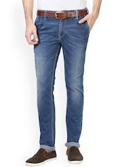 V Dot by Van Heusen Men Blue Slim Fit Mid-Rise Clean Look Jeans