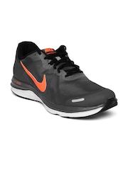 670c3c83e2e153 Nike Men Charcoal Grey Dual Fusion X 2 Running Shoes