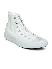 converse shoes all white. converse women white solid high tops sneakers shoes all