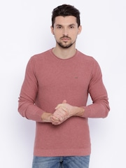 Basics Rust Red Sweater