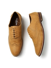 INVICTUS Men Tan Brown Brogues