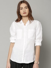 6a57a8dd1afcc Marks Spencer Linen Shirts - Buy Marks Spencer Linen Shirts online .