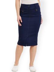 Denim Skirts - Buy Denim Skirts for Women Online | Myntra