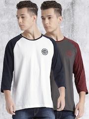 Roadster Pack of 2 Raglan T-shirts