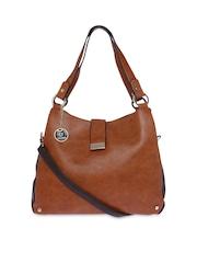 Fur Jaden Tan Brown Shoulder Bag
