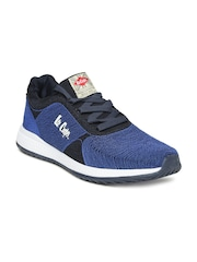 2016 Lee Cooper Sports Shoes for Women  Blue Running Shoes Outlet