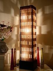 Floor lamps buy floor lights standing lamps online myntra sylvn studio brown handcrafted floor lamp aloadofball Gallery