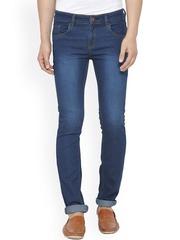 JAINISH Men Blue Slim Fit Low-Rise Stretchable Jeans